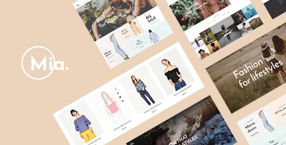 Leo Mia - Clothing & Accessories Store PrestaShop Theme 1.7.x - Fashion PrestaShop