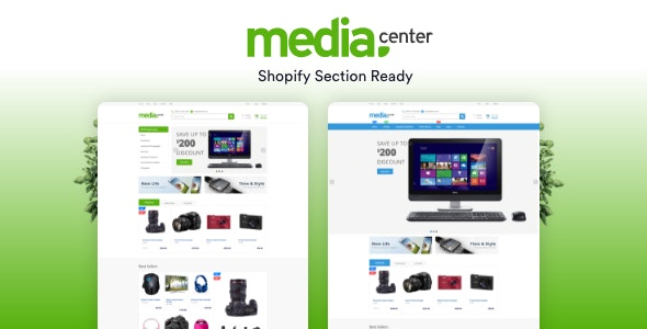 MediaCenter Electronics Store Shopify Theme - Section Ready - Shopping Shopify