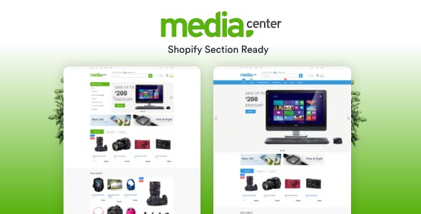 Free Shopify Themes from ThemeForest