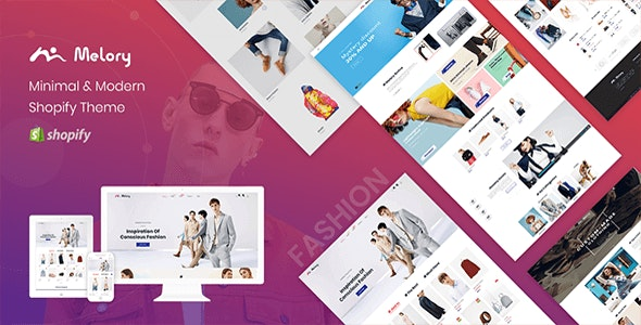 Melory - Minimal Costume Store Shopify Theme - Fashion Shopify