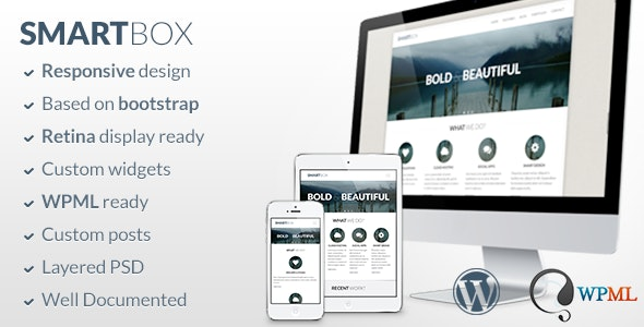SmartBox - Responsive WordPress Bootstrap Theme - Business Corporate
