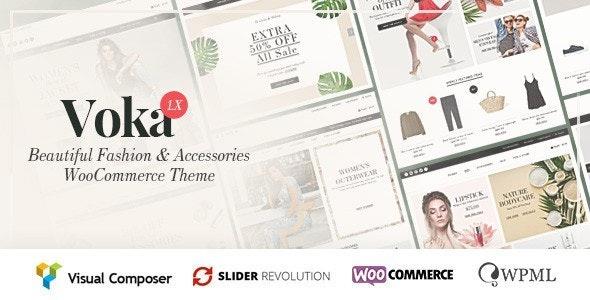 Voka - Fashion Cosmetic & Accessories WooCommerce Theme - WooCommerce eCommerce