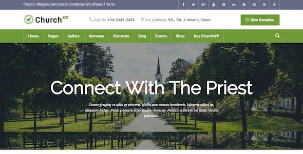 ChurchWP - A Contemporary WordPress Theme for Churches
