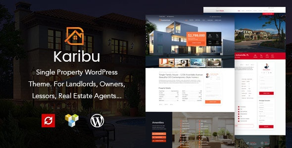 Karibu - Single Property Theme - Real Estate WordPress