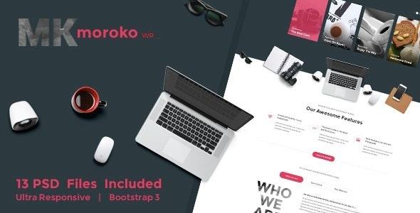 Moroko – Creative Bootstrap Responsive WordPress Theme - Creative WordPress