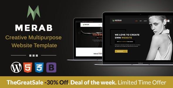Merab - Creative Multipurpose WordPress Theme