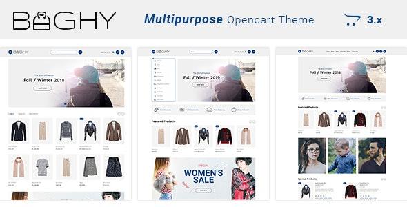 Baghy - Multipurpose Responsive Opencart 3 Theme - OpenCart eCommerce
