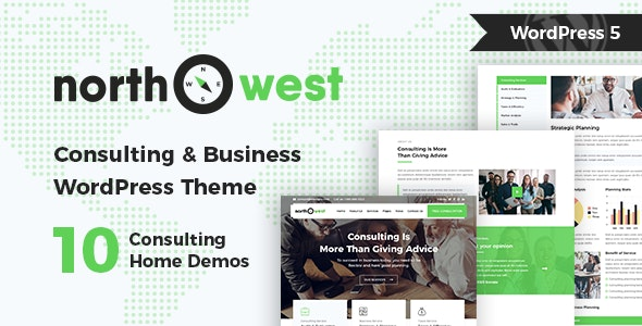 Northwest - Consulting WordPress Theme - Business Corporate