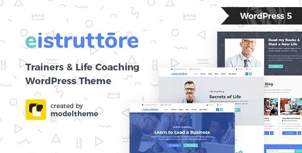 Eistruttore - Speaker and Life Coach WordPress Theme