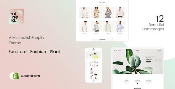 Minera - Minimalist  Responsive Multipurpose Sections Drag & Drop Builder Shopify Theme - Fashion Shopify