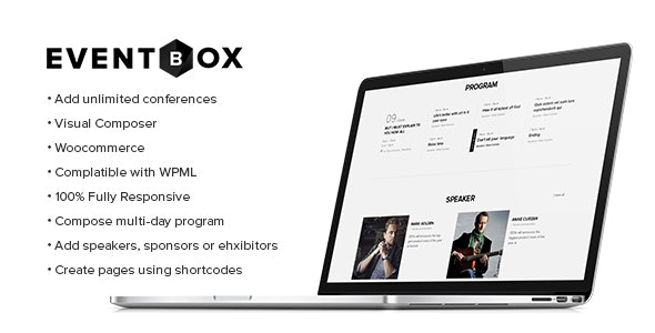Eventbox - Club/Workshop/Party WordPress Theme - Events Entertainment