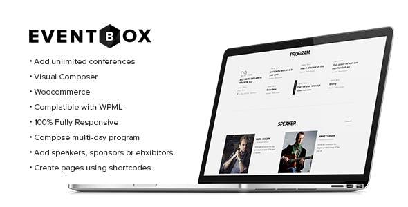 Eventbox - Club/Workshop/Party WordPress Theme