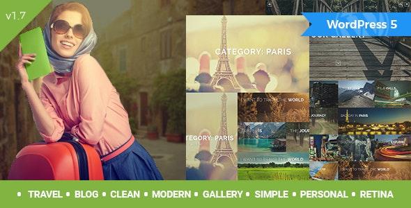 Travelogue - Travel Blog WordPress Theme - Creative WordPress