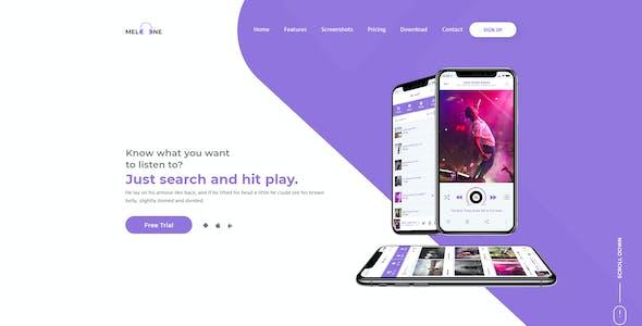 MeloOne - Corporate Multi Purpose PSD Template