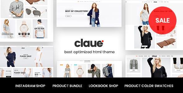 Claue - Clean, Minimal HTML5 Template