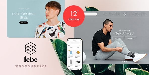 Lebe - Multipurpose WooCommerce Theme (RTL Supported) - WooCommerce eCommerce
