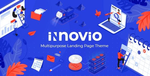 Innovio - Multipurpose Landing Page Theme - Marketing Corporate