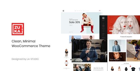 Zuka - Clean, Minimal WooCommerce Theme - WooCommerce eCommerce