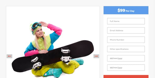 WinterZone – Ski & Winter Sports WordPress Theme