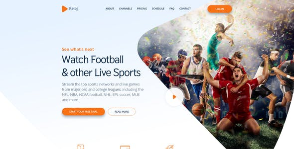 Live Score Templates from ThemeForest