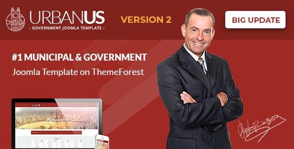 Urbanus - Responsive Government Joomla Template - Government Corporate
