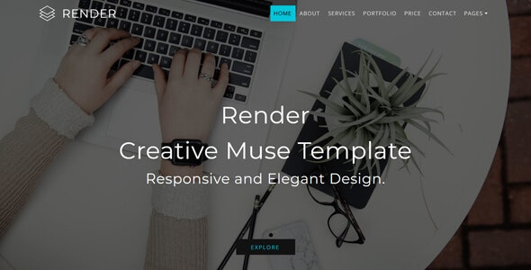 Render_Multipurpose Creative Muse Template - Creative Muse Templates