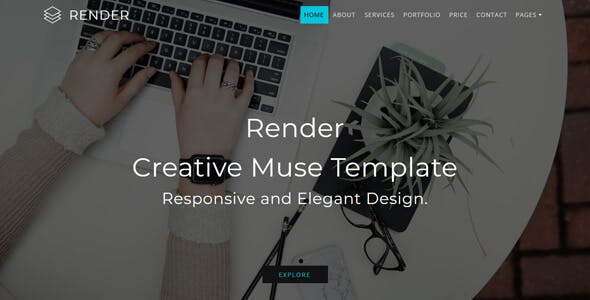 Download Render_Multipurpose Creative Muse Template