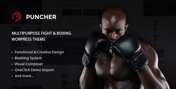 Puncher - Responsive Multipurpose WordPress Theme - Health & Beauty Retail