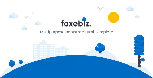 Foxebiz - Multipurpose Html Template - Corporate Site Templates