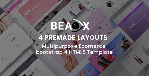 Beaox- Responsive Multipurpose E-Commerce HTML5 Template - Retail Site Templates