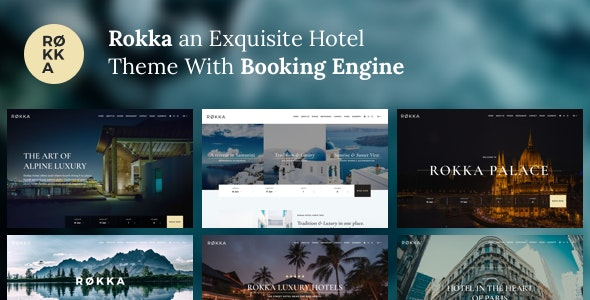 Rokka - Hotel Theme With Booking System - Travel Retail