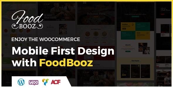 FoodBooz Minimal WordPress Restaurant & Cafe Theme - Restaurants & Cafes Entertainment