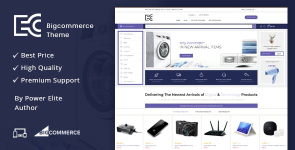 eCode - Multipurpose Stencil BigCommerce Theme