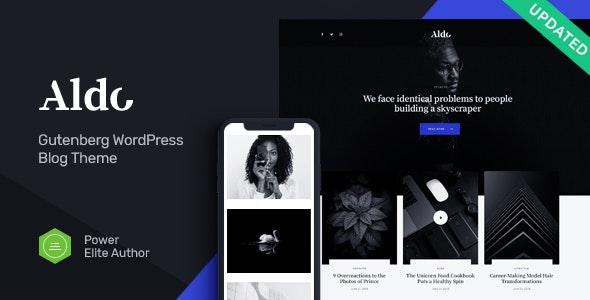 Aldo | Gutenberg Blog WordPress Theme