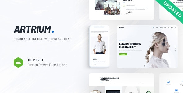 Artrium | Creative Agency & Web Studio WordPress Theme - Business Corporate