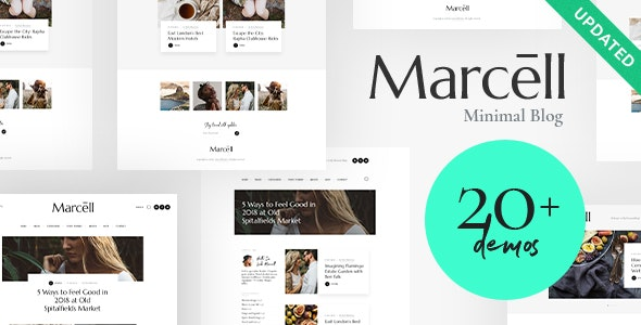 Marcell | 20+ Layouts Multi-Concept Personal Blog & Magazine WordPress Theme - Personal Blog / Magazine