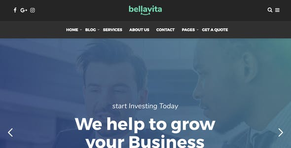 Bellavita - Insurance & Finance WordPress Theme