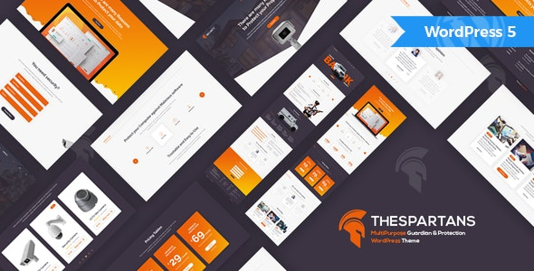TheSpartans - MultiPurpose Guardian & Protection WordPress Theme - Business Corporate