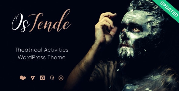 OsTende | School of Arts & Theater WordPress Theme - Entertainment WordPress