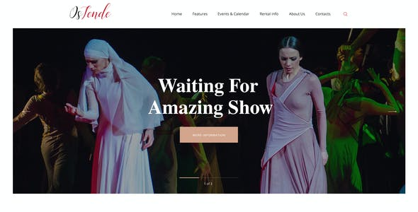 OsTende | School of Arts & Theater WordPress Theme