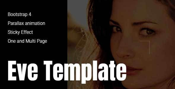 Eve - Creative One & Multipage Template - Creative Site Templates