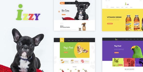 Bos Izzy - Veterinary Clinic & Pet Shop PrestaShop Theme - Entertainment PrestaShop