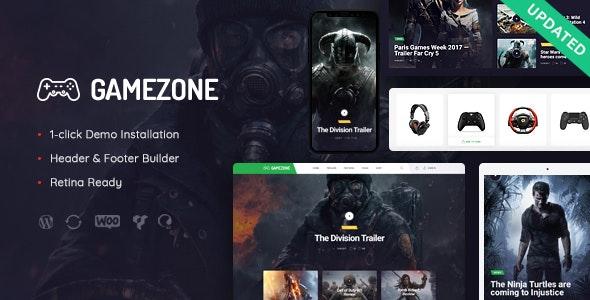 Gamezone | Video Gaming Blog & Esports Store WordPress Theme - Entertainment WordPress