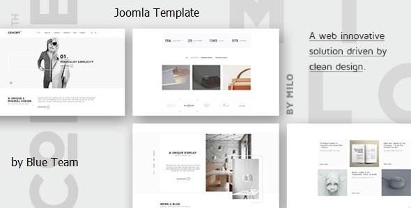 Concept - Design-Driven Multipurpose Joomla Template - Business Corporate