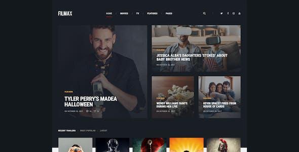 Filmax | Cinema & Movie News Magazine WordPress Theme