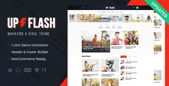 Bazinga | Modern Magazine & Viral Blog WordPress Theme - News / Editorial Blog / Magazine