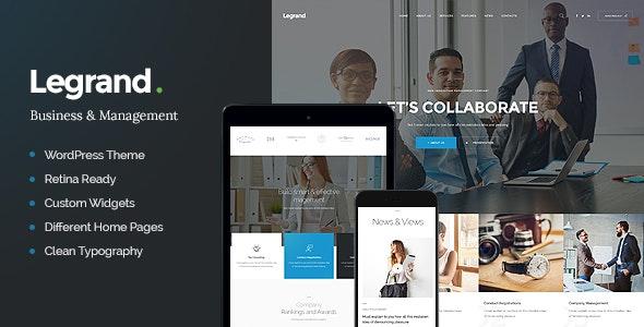 LeGrand   A Modern Multi-Purpose Business WordPress Theme - Business Corporate
