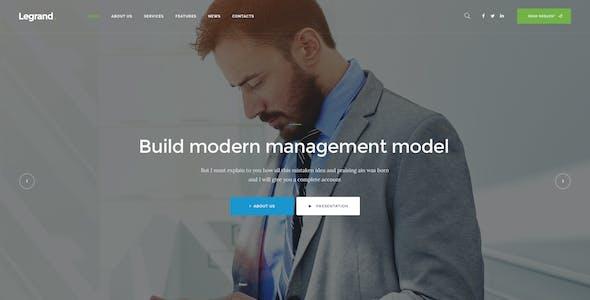 LeGrand | A Modern Multi-Purpose Business WordPress Theme