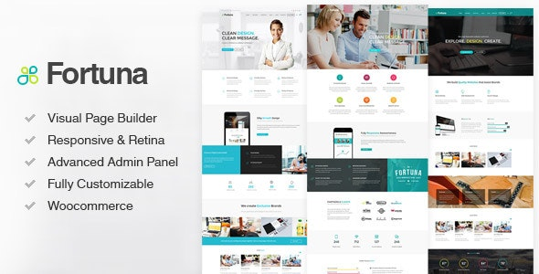 Fortuna - Responsive Multi-Purpose WordPress Theme - Corporate WordPress