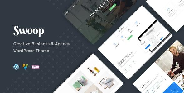 Swoop   Web Studio & Creative Agency WordPress Theme